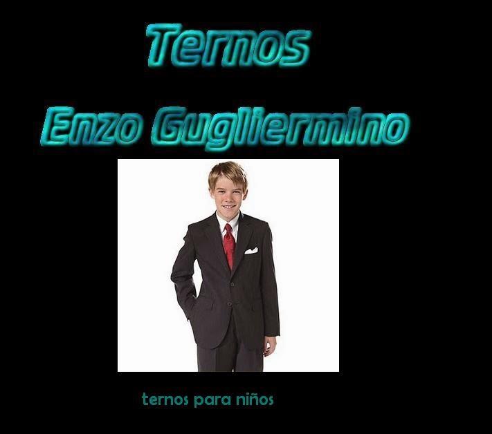TERNOS ENZO GUGLIERMINO  TERNOS PARA NIÑOS -LIMA -MAGDALENA DEL MAR 11035ec14f85