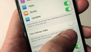 خمس نصائح حتي تستطيع تقليل استهلاك البيانات جهاز الأيفون