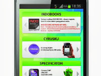 Cyrus Glory : Smartphone Entry Level Berprosesor Dual Core, OS Android Jelly Bean