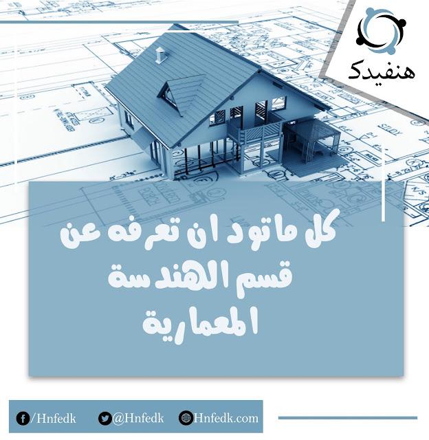مجالات عمل المهندس المعماري