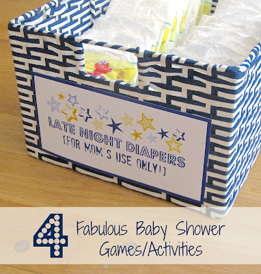 Baby Shower Games Ideas Activities