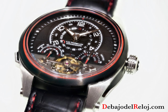 Montblanc TimeWalker ExoTourbillon Minute Chronograph2