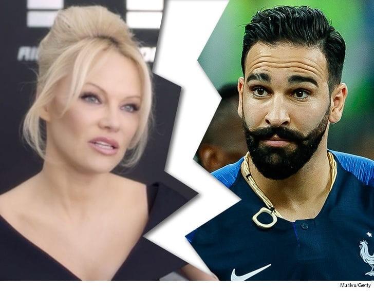 Adil Rami Ngamuk Usai Ditanya Soal Pamela Anderson