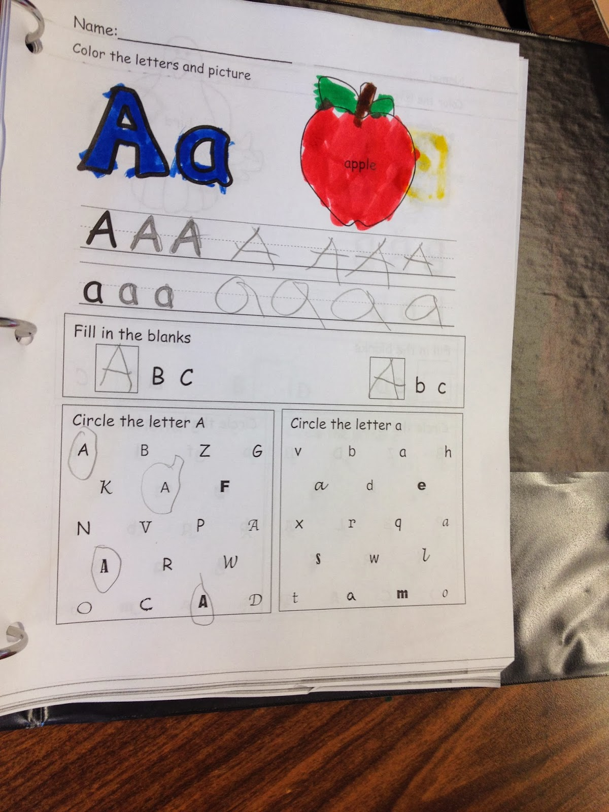 Autism Tank Letter Number Identification