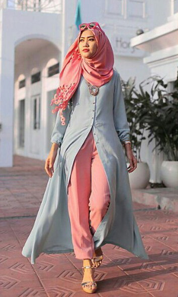 Quran Tumblr Pink Hijab fashion inspirat...