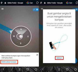 Mencari Arah Kiblat Dengan Smartphone Tanpa Instal Aplikasi 4