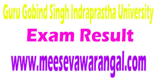 Guru Gobind Singh Indraprastha University Ph.d Course (ICT) I/II Sem 2016 Exam Results