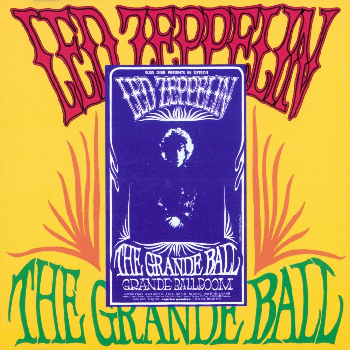 RELIQUARY: Led Zeppelin [1969 04 25] The Grande Ball - FLAC + MP3