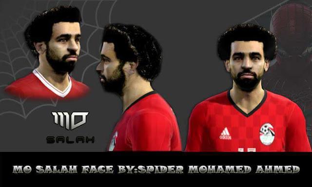 Mohamed Salah Face PES 2013