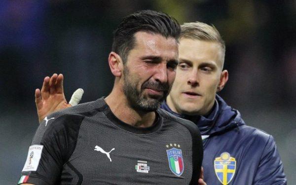 Italia Gagal Masuk Piala Dunia 2018, Grazie Buffon
