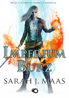 """Imperium burz"" - Sarah J. Maas"