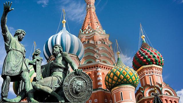 Mosca la capitale Russa