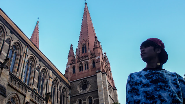 Ray Tan 陳學沿 (raytansy) ; St Patrick's Cathedral @ Melbourne City (CBD), Victoria, Australia 墨尔本圣帕特里克教堂 澳洲澳大利亞 維多利亞州