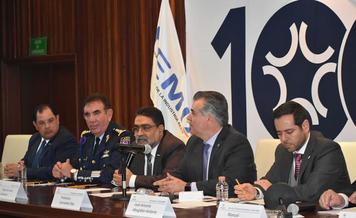 Concamin y Femia firman convenio de colaboración para la creación de Centros de Innovación. (Foto: Vanguardia  Industrial)
