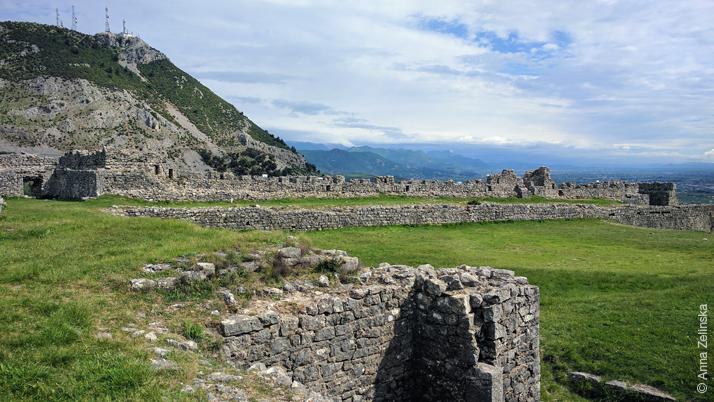 Крепость Леже, Албания