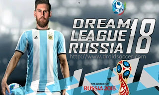 DLS Mod WorldCup Rusia 2018 Apk + Data Obb Android