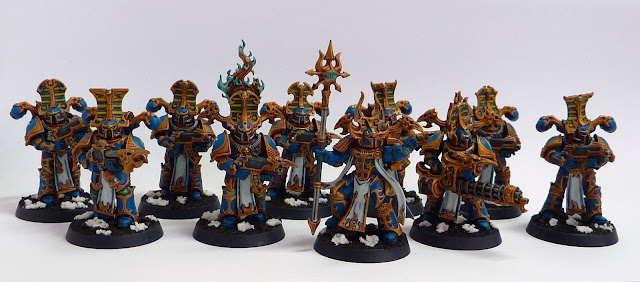 Thousand Sons Rubric Marines for Warhammer 40,000