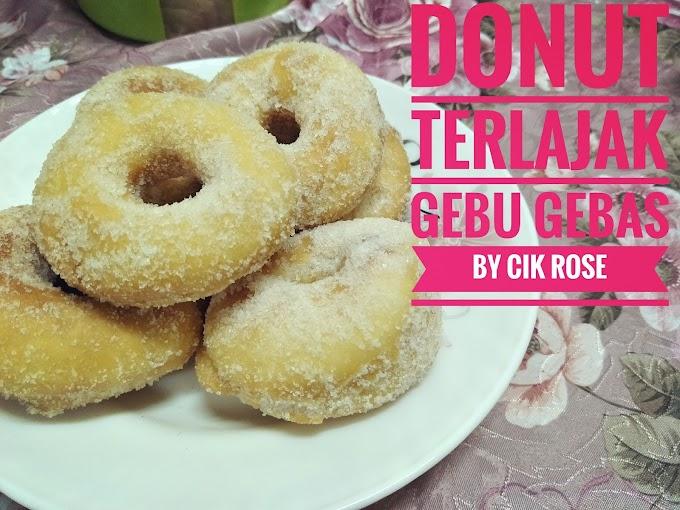 Resepi Donut Yang Mudah, Gebu dan Lembut