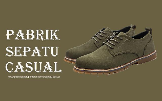 Pabrik Sepatu Casual Modern Bandung City