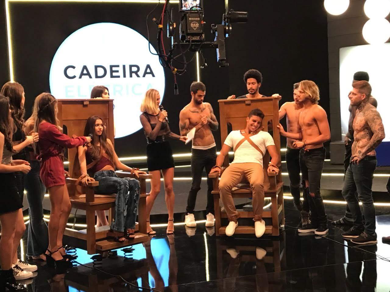 Lucas Mantellato na prova da cadeira elétrica. Foto: Conexão Models/MM Estratégia de Imagem