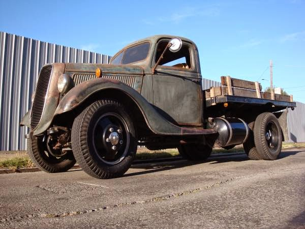 1937 Ford Truck Flatbed Auto Restorationice