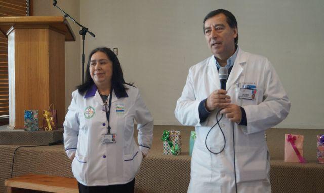Voluntariados de Hospital Base de Osorno se capacitaron Salud e Inmigración