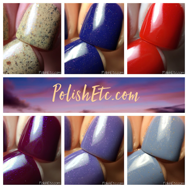 Great Lakes Lacquer - The Sunset Dissected Collection - McPolish