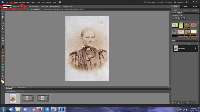 Restoring old family photographs with photoshop - a how to guide