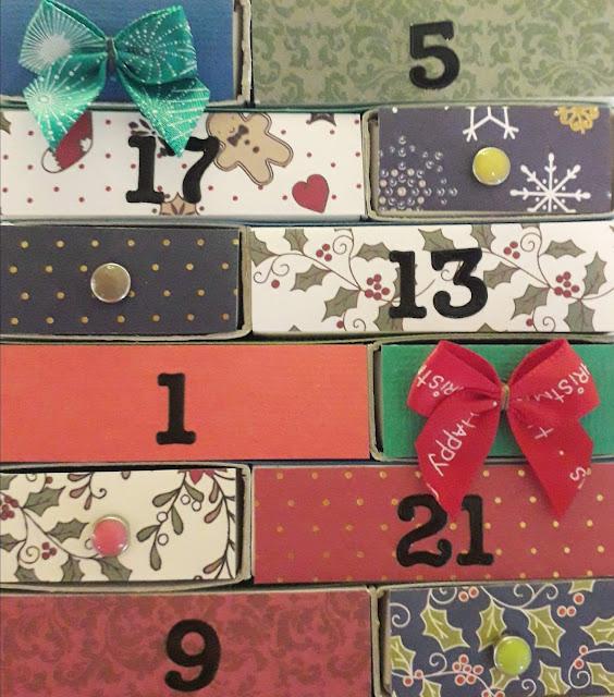 somaarki joulukalenteri askartelu
