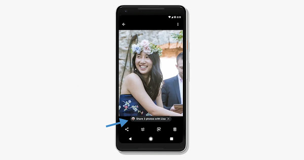 Automatic Sharing of Photos with people in your photos