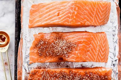 Maple-Crusted Salmon