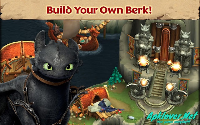 Dragons: Rise of Berk MOD APK
