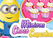 Minions cooking Choco Cupcakes juego