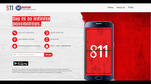 What is the 811 number of Kotak Mahindra Bank