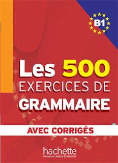 LES 500 EXERCICES DE GRAMMAIRE - nowa książka