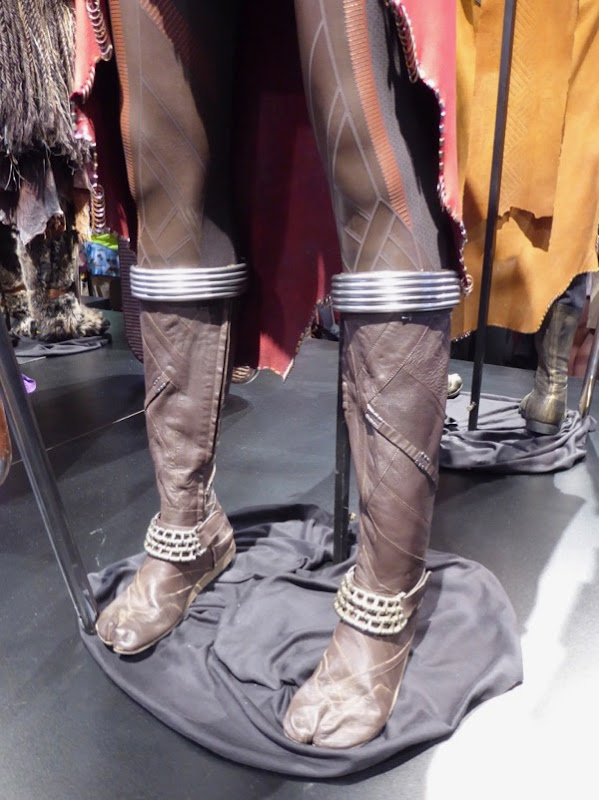 Black Panther Nakia costume boots