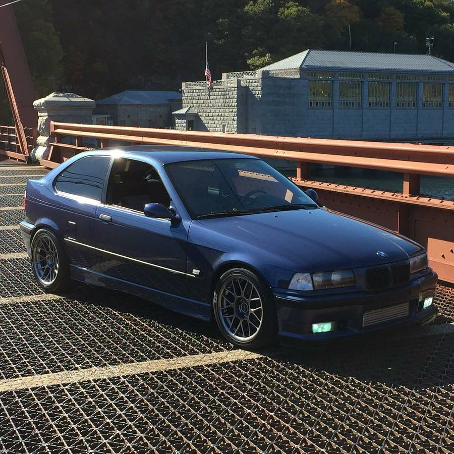 Daily Turismo: Supercharged S52: 1996 BMW 318ti E36/5