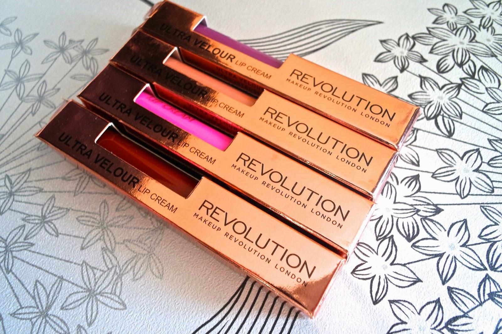 Makeup Revolution Ultra Velour Lip Cream Review
