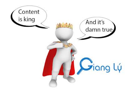 nội dung là vua