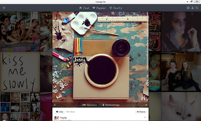 Explore Instagram with Instagrille, Instagram App for Windows 2