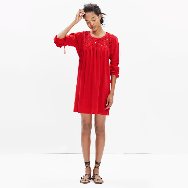Spring/Summer Capsule Wardrobe: Five Dresses for Play from Honey and Smoke Studio // Eyelet Daybreak Dress from Madewell