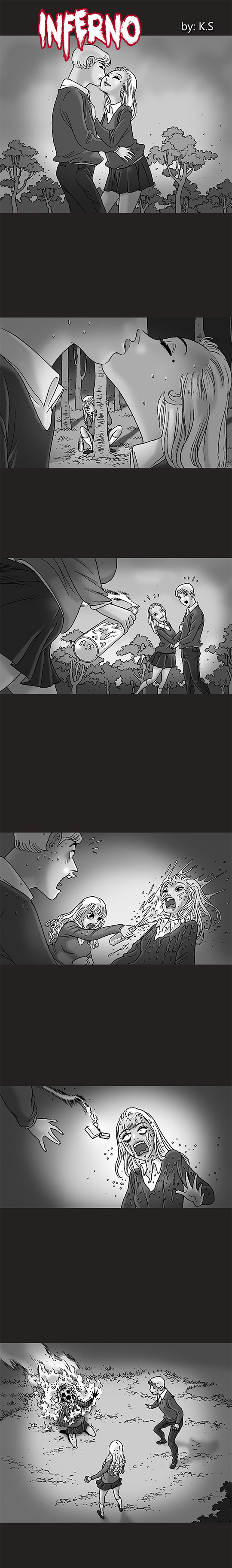 Silent Horror chap 167: Địa ngục