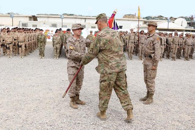 El Grupo de Regulares nº52 lídera la 5ª rotación española en Irak