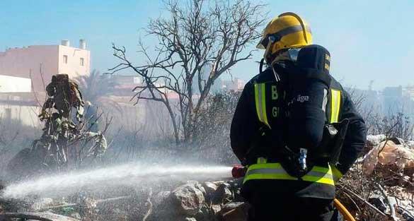 Bomberos Gran Canaria, comunicado sobre incendio Fataga