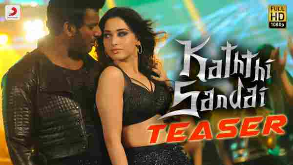 Kaththi Sandai Movie