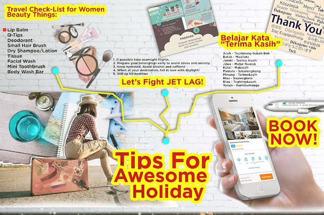 [Tips] Perhatikan hal sepele ini supaya liburan asyik!