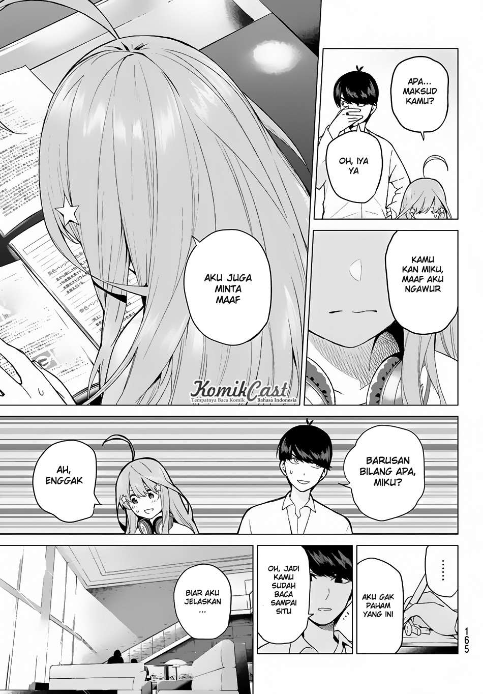 Baca Manga Go-Toubun No Hanayome Chapter 18 Bahasa Indonesia
