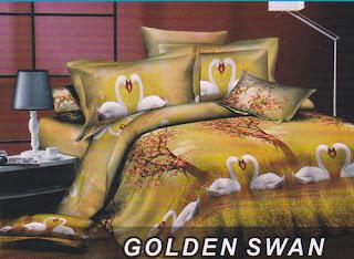 Sprei Fata Golden Swan