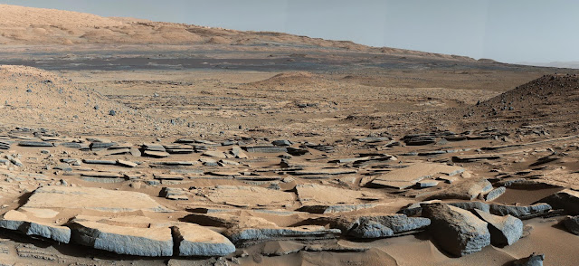 Rocks near Mount Sharp