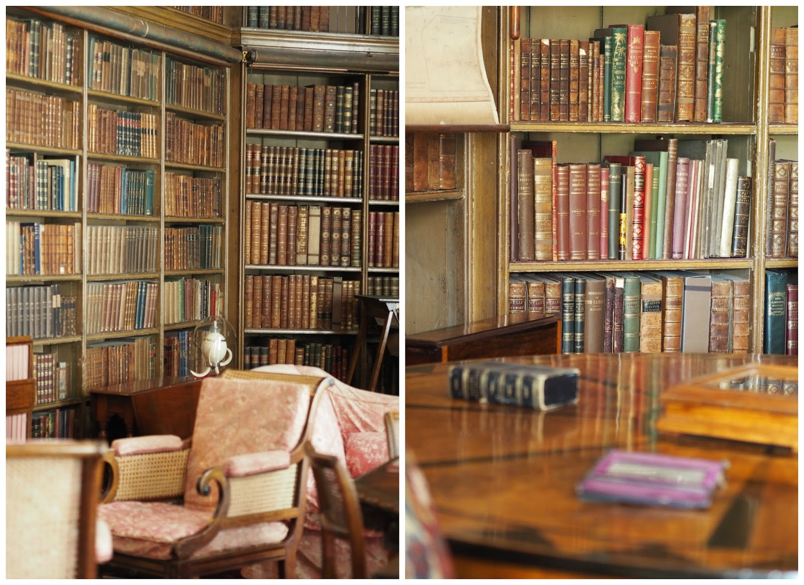 Calke Abbey National Trust Priceless Life of Mine  The Library